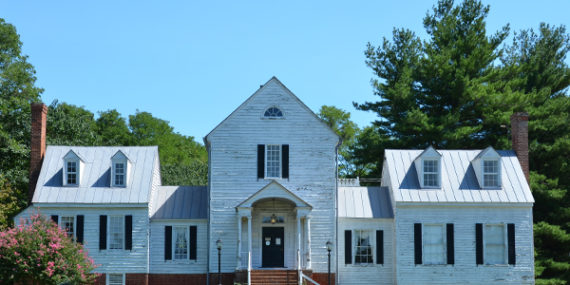Custom Residential Roofing for a historic home by J. King DeShazo Roofing of Richmond - Glen Alan