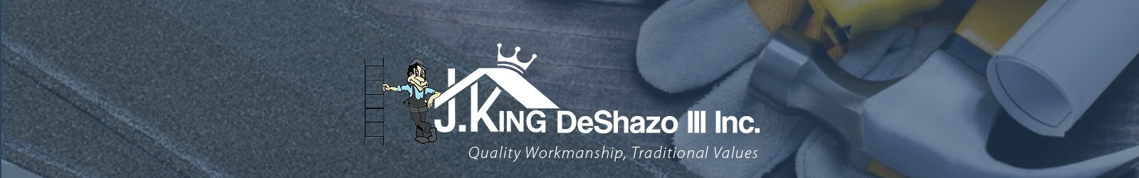 J.King DeShazo Roofing - Ashland Virginia - Commercial & Residential Roofing