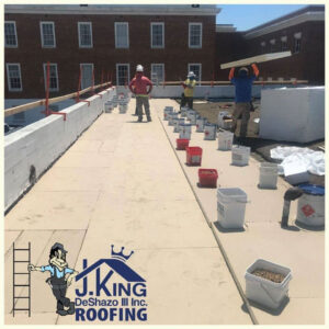J. King DeShazo Roofing - Roof replacement and repair - Richmond area of Virginia