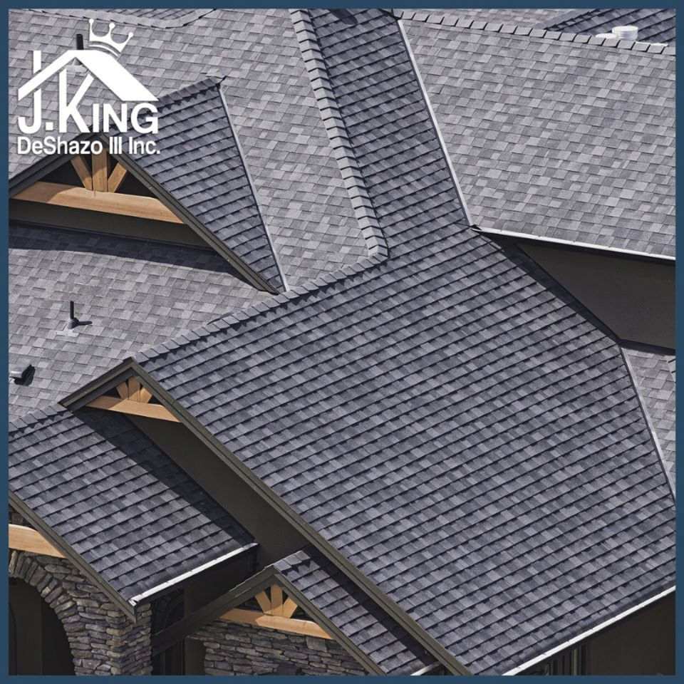 Roof Replacement - by J. King DeShazo III Inc. - Ashland and Richmond Virginia