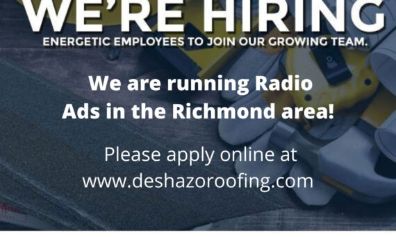 Roofing jobs - J. King DeShazo Roofing - Ashland - Richmond Virginia area